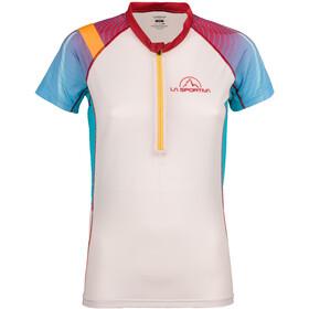 La Sportiva Speed T-Shirt Women Berry/White
